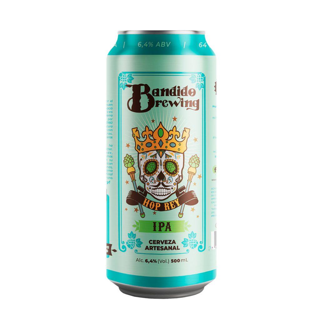 Bandido Brewing - Hop Rey IPA Beer, Quito Ecuador