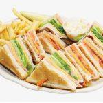 Club Sandwich, Brunch Quito Ecuador - VIVA Cerveza! Gastropub