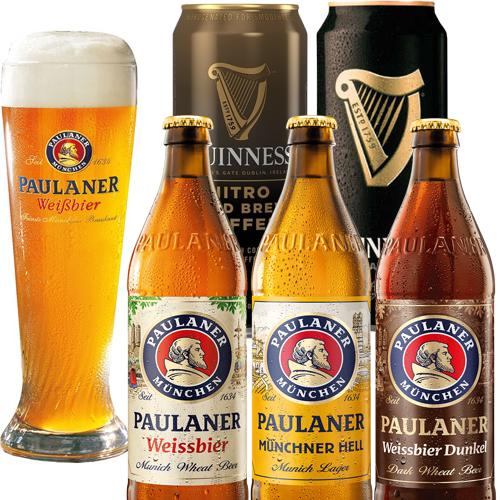 Paulaner Guinness Cerveza Beer - Quito, Ecuador